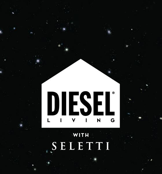 Diesel vivendo com Seletti