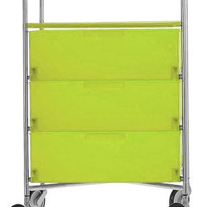 Chest of drawers Green Mobil Kartell Antonio Citterio 4 1