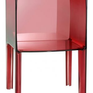 Small Ghost Buster de noche rojo Kartell Philippe Starck | Eugeni Quitllet 1