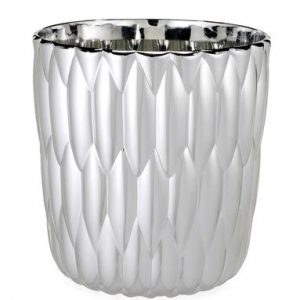 Container for ice Jelly Chrome Kartell Patricia Urquiola 1