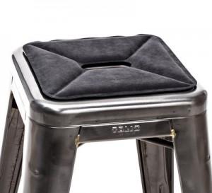 Cuscino Cuscino di seduta / sistema magnetico per sgabelli Antracite Tolix  1