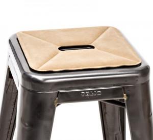 Cuscino Cuscino di seduta / sistema magnetico per sgabelli Beige Tolix  1
