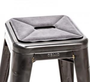 Cuscino Cuscino di seduta / sistema magnetico per sgabelli Grigio Tolix  1