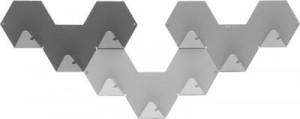 Gancio Simplex confezione da 3 Grigio Tolix Sebastian Bergne 1