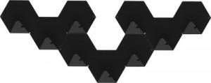 Gancio Simplex confezione da 3 Nero Tolix Sebastian Bergne 1