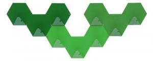 Gancio Simplex confezione da 3 Verde Tolix Sebastian Bergne 1