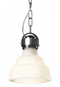 Lampada a sospensione Glas / Ø 22 cm Bianco|Cromato Diesel with Foscarini Diesel Creative Team 1