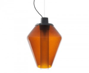 Lampada a sospensione Metal Glass 1 Ambra Diesel with Foscarini Diesel Creative Team 1