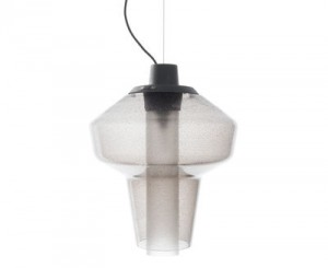 Lampada a sospensione Metal Glass 1 Grigio Diesel with Foscarini Diesel Creative Team 1