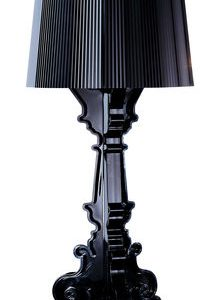 Black Kartell Bourgie table lamp Ferruccio Laviani 1