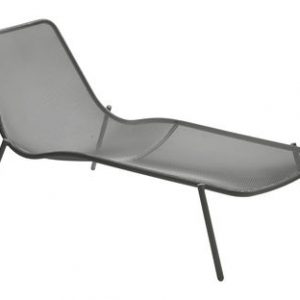 sunlounger Round Antique iron Emu Christophe Pillet 1