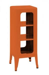 Mobile Sgabello alto H 75 cm Arancione Tolix Frédéric Gaunet 1