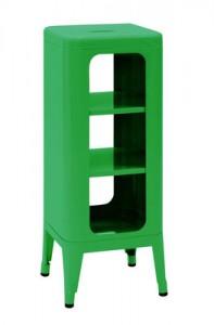 Mobile Sgabello alto H 75 cm Verde Tolix Frédéric Gaunet 1