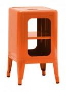 Mobile Sgabello basso H 50 cm Arancione Tolix Frédéric Gaunet 1