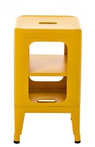 Mobile Sgabello basso H 50 cm - Les Couleurs® Le Corbusier Giallo acceso Tolix Frédéric Gaunet 1