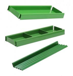 Organizzatore per ufficio V confezione da 3 portapenne Verde Tolix Normal Studio 1