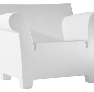 Bubble Club Armchair White zinc Kartell Philippe Starck 1
