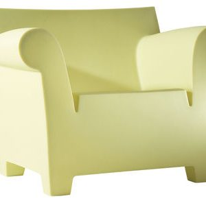 Bubble Club Armchair Yellow on Kartell Philippe Starck 1
