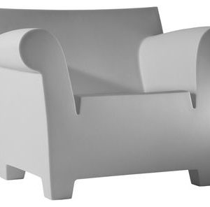 Bubble Club Armchair Light gray Kartell Philippe Starck 1