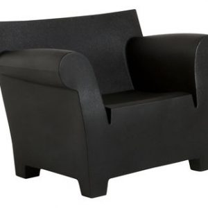 Black Bubble Club Armchair Kartell Philippe Starck 1