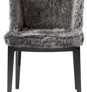 Mademoiselle armchair Kravitz Gray | Black Kartell Philippe Starck | Kravitz Design 1