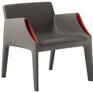 Magic Hole Armchair Orange | Grey Kartell Philippe Starck | Eugeni Quitllet 1