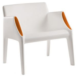 Magic Hole Armchair White | Orange Kartell Philippe Starck | Eugeni Quitllet 1