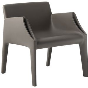 Grey armchair Magic Hole Kartell Philippe Starck | Eugeni Quitllet 1