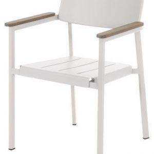 Glanz Weiße Sessel | Teck Arik Levy Emu 1