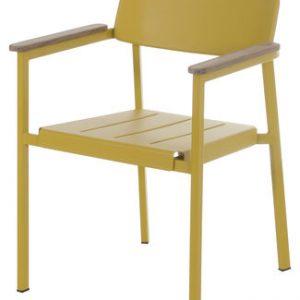 Armchair Shine Yellow Mustard   Teck Arik Levy Emu 1