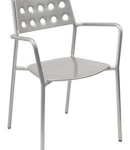 Armchair Aluminium Shot Emu Christophe Pillet 1