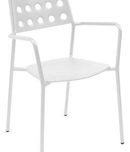 Armchair Shot White Emu Christophe Pillet 1