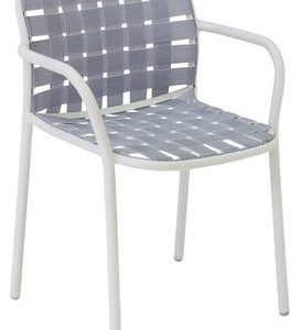 Yard White Emu chair Stefan Diez 1