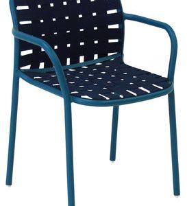 Yard Blue Emu chair Stefan Diez 1