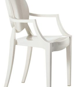 Children chair Lou Lou Ghost Kartell Philippe Starck Matte Black 1