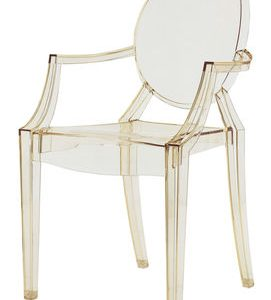 Lou Lou Ghost children armchair Yellow transparent Kartell Philippe Starck 1