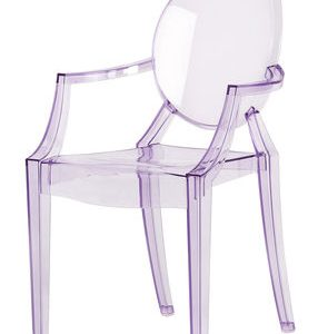 Lou Lou Ghost children armchair Viola Kartell transparent Philippe Starck 1