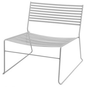 Low armchair Aero aluminum Emu Paul Newman 1