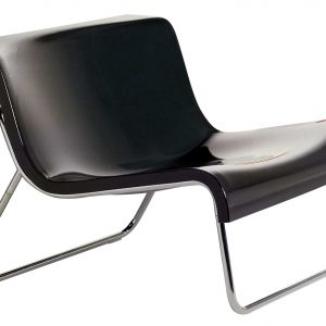 Low armchair Form Anthracite Kartell Piero Lissoni 1