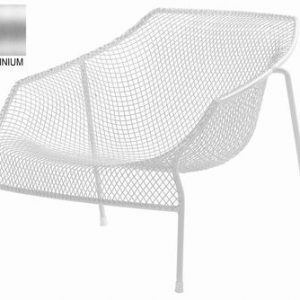 Low armchair Emu Heaven Aluminum Jean-Marie Massaud 1