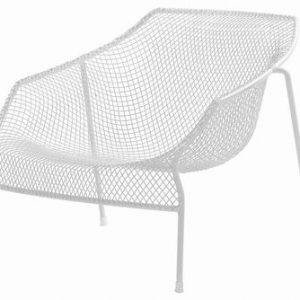 Low armchair Heaven White Emu Jean-Marie Massaud 1