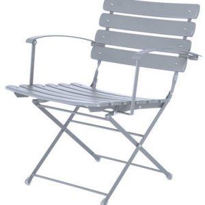 folding armchair Arc en Ciel Aluminium Research Centre Emu Emu 1