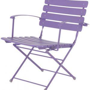 Folding chair Arc en Ciel Lilac Emu Research Centre Emu 1