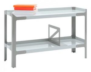 Scaffale Pop L - L 90 x H 56 cm Grigio chiaro|Grigio scuro Tolix Normal Studio 1