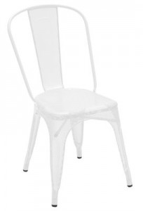 Sedia AA Bianco Tolix Chantal Andriot 1