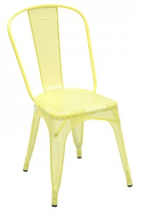 Sedia AA Giallo zolfo Tolix Chantal Andriot 1