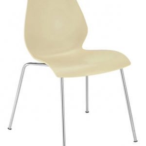 Chair Maui Soft yellow Kartell Vico Magistretti 1
