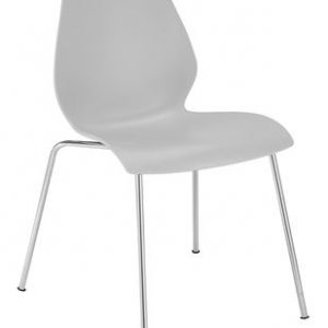Light gray chair Maui Kartell Vico Magistretti 1