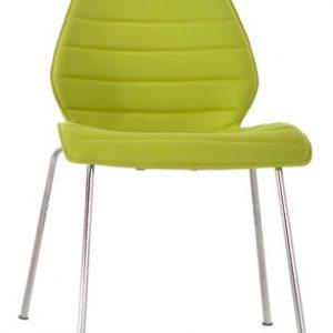 Chair Maui Soft / Kvadrat Divina 4 Green Kartell Vico Magistretti acid 1
