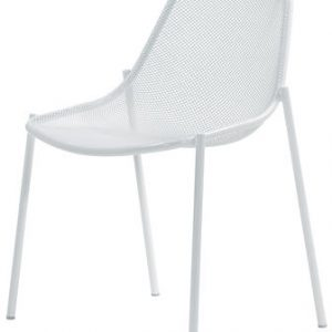 Round White Chair Emu Christophe Pillet 1